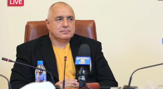 На живо: Бойко Борисов: Дотук направихме правилните неща