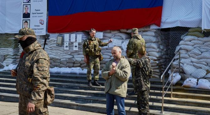 В самозваната проруска Донецка народна република (ДНР) в Източна Украйна