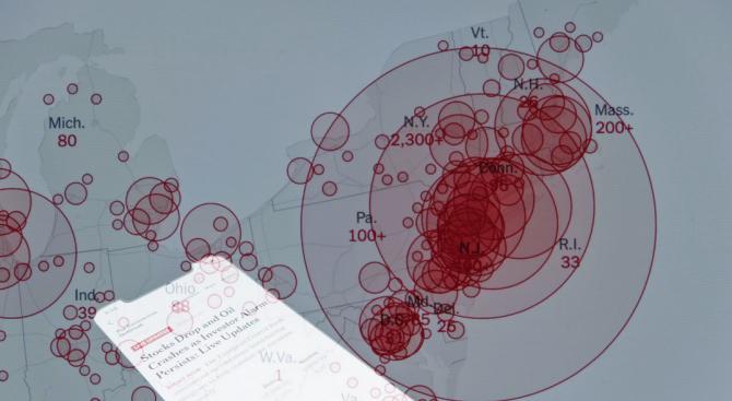 Нови случаи на коронавирус по света