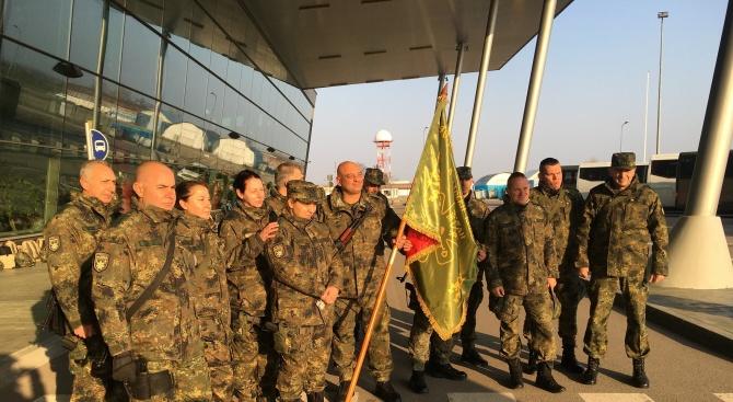 Тържествен ритуал по изпращането на 40-ия контингент от Въоръжените сили