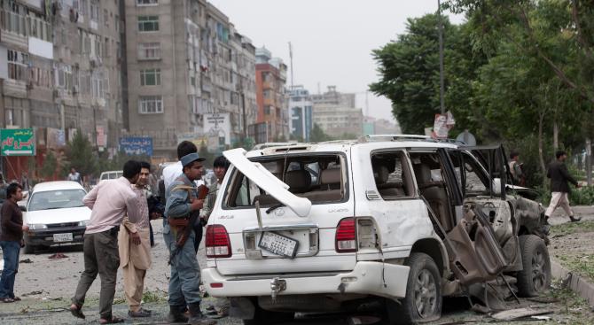 Крайпътна бомба уби 6 деца в Афганистан