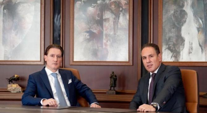 Собствениците на Лудогорец - Кирил и Георги Домусчиеви, направиха поредното