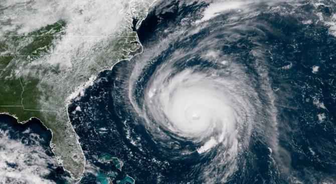 16 бури, включително 8 урагана, прогнозират за сезона на ураганите