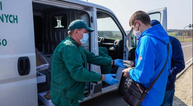 Над 3000 души се заразиха с коронавирус в Полша за по-малко от месец