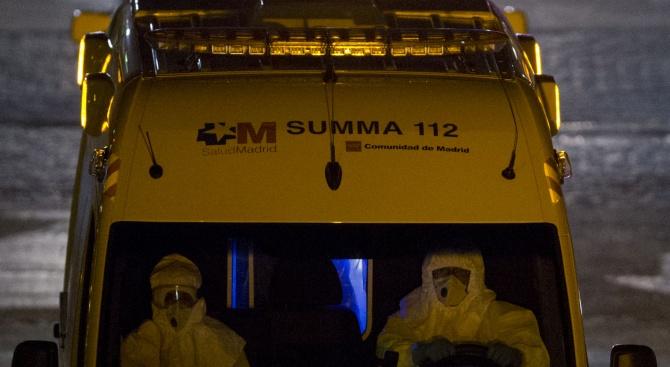 Испания изпревари Италия по брой заразени