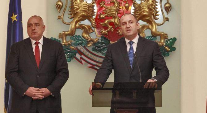 Сутринтасе чухме с президента Румен Радев, за да му изкажа