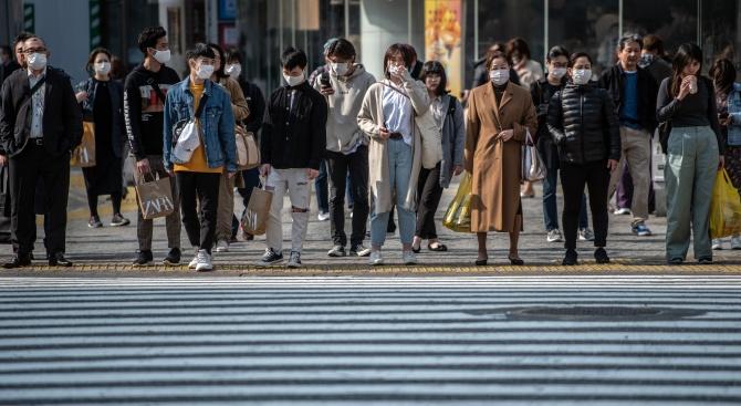В Япония случаите на COVID-19 растат