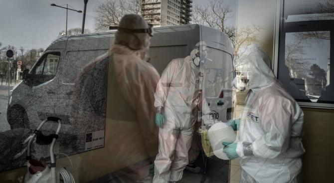 Над 7500 станаха жертвите на коронавируса във Франция, съобщи Франс