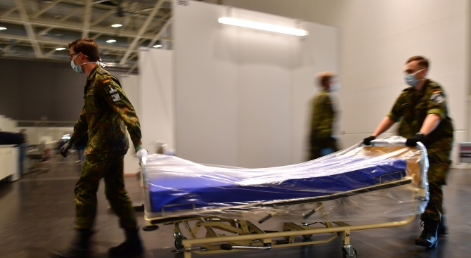 Починалите от коронавирус в Швейцария вече са 559