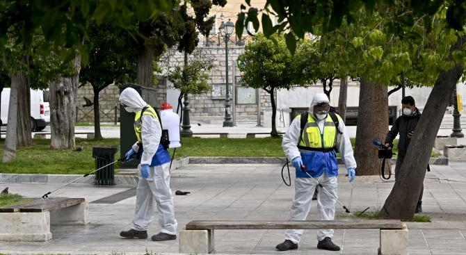 Гръцкото министерство на здравеопазването съобщи днес за нови пет жертви