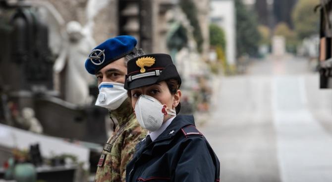 Италия регистрира най-малкия брой смъртни случаи от COVID-19 за денонощие