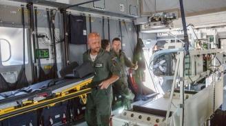 Германските ВВС превозват тежко болни от COVID-19 италианци за лечение във ФРГ