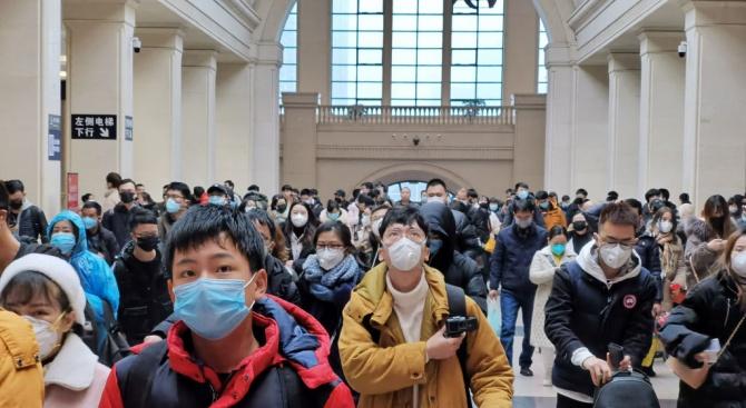 Континентален Китай съобщава за 39 нови случая на коронавирус през