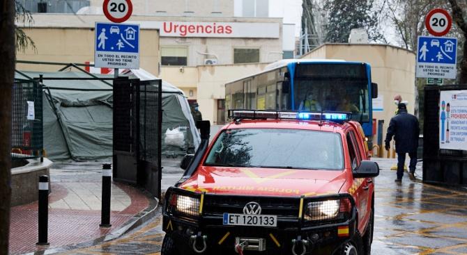 В Испания през последните 24 часа вследствие на новия коронавирус