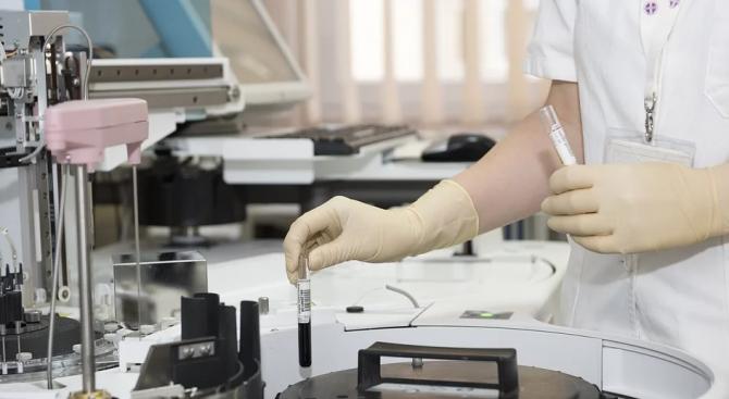 Новооткритата вирусологична лаборатория за коронавирус към Медицинския университет в Плевен
