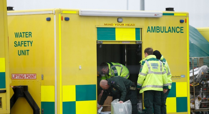 Броят на починалите от COVID-19 във Великобритания нарасна с 439