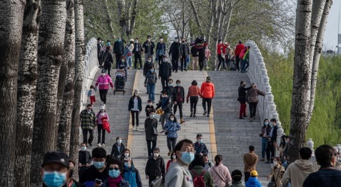 Без жертви на COVID-19 в Китай за последните 24 часа