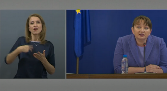 Министър Сачева с подробности за нивата на безработица и мярката 60/40