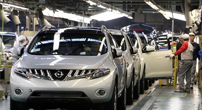 Продажбите на Нисан в Китай са се понижили с 44,9 процента