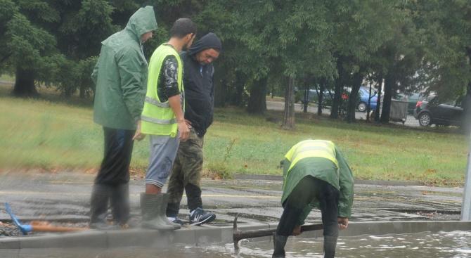 Община Асеновград започва разчистване на пораженията, нанесени вследствие на проливните