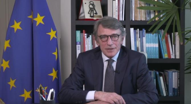Давид Сасоли с призив към правителствата на ЕС