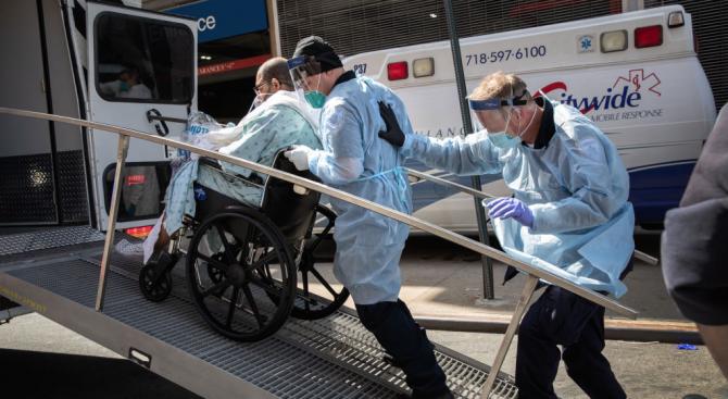 И в щата Ню Йорк има рекорд по смъртни случаи за последните 24 часа