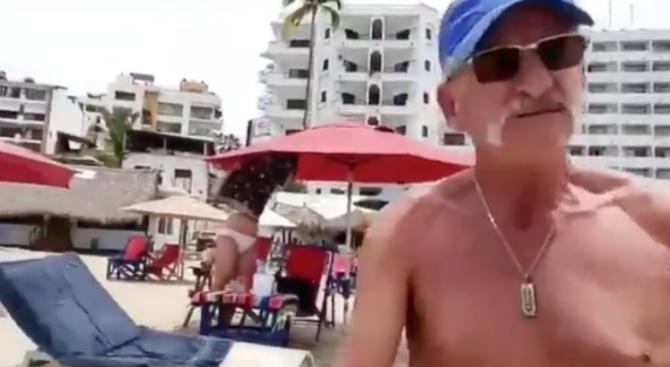 Репортерка си навлече гнева на туристи, хванала ги на плаж по време на карантина