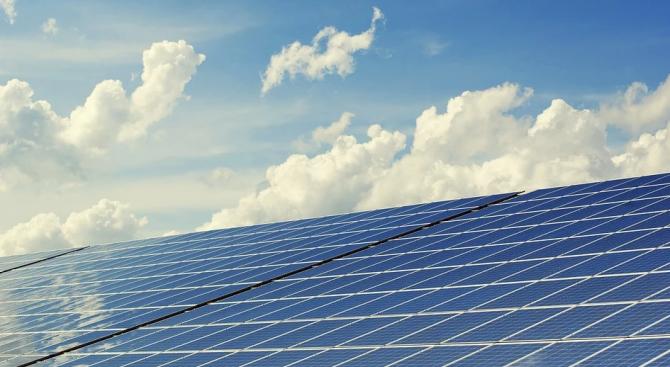 Нов соларен парк с мощност 15 киловатпик /KWp/, изграден от