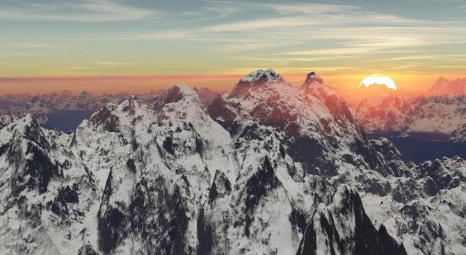 За първи път от десетилетия насам Хималаите могат да бъдат