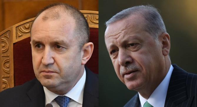Радев и Ердоган: Борбата с коронавируса изисква сътрудничество и солидарност