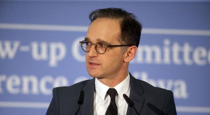 Германският външен министър подкрепи СЗО