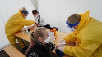 За един ден в Германия са се заразили над 4100 души с новия коронавирус