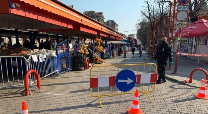 Договорите на трима търговци на Женски пазар са прекратени заради неспазване на противоепидемичните мерки