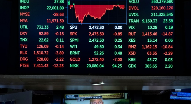 Спирането на американската икономика и разходите, свързани с епидемията от