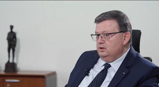 Сотир Цацаров: Корупцията у нас не е намаляла