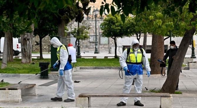 Говорителят на гръцкото здравно министерство Сотирис Циодрас съобщи за нови
