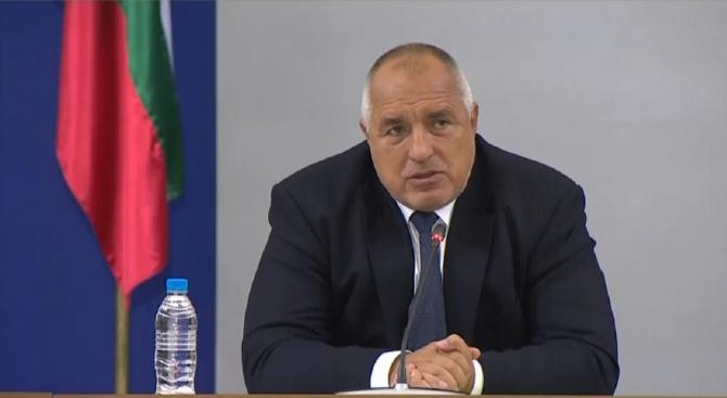 Премиерът Бойко Борисов се включи днес във видеовръзката с останалите