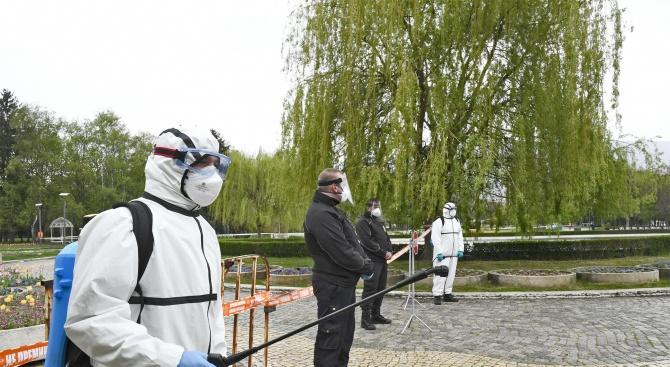 Вижте подробните схеми за разходки в парковете в София