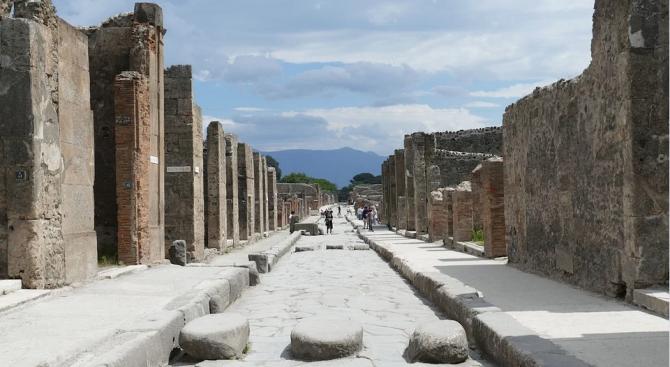 В Помпей древните римляни сортирали и рециклирали отпадъците си