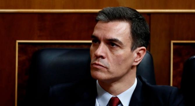 Премиерът на Испания Педро Санчес обяви днес план от четири