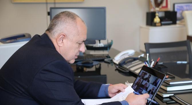 Борисов и министрите от кабинета с поредно онлайн заседание