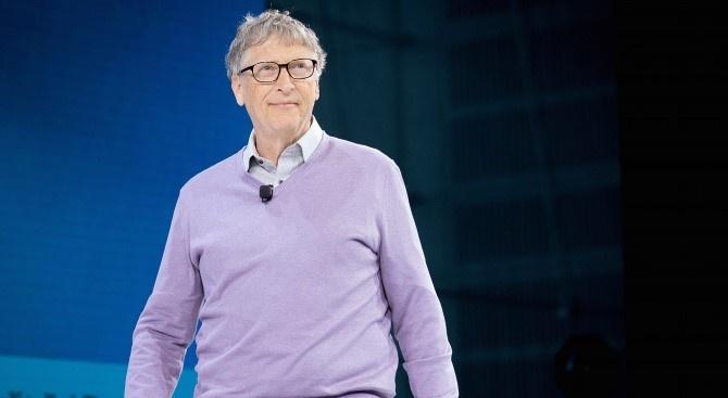 Основателят на Microsoft Corp. милиардерът Бил Гейтс заяви в четвъртък,
