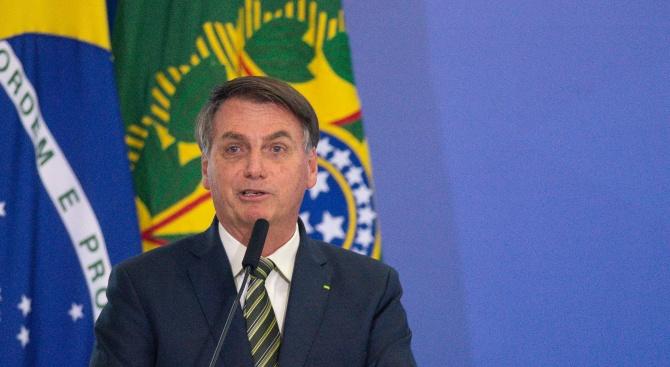 Бразилският президент Жаир Болсонаро заяви, че Световната здравна организация (СЗО)