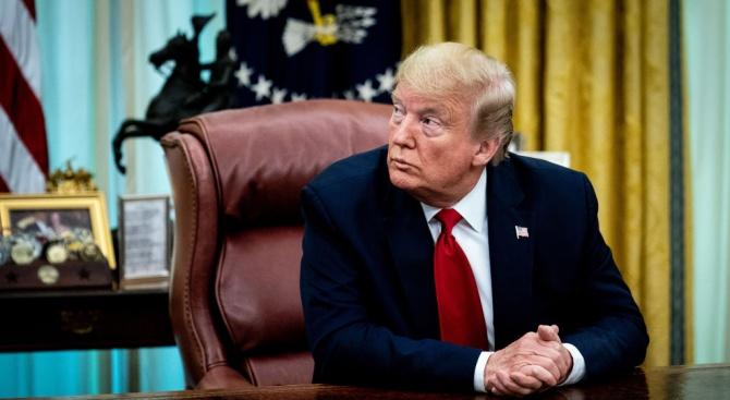 В САЩ изтече информация, според която американският президент Доналд Тръмп