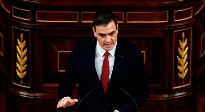 Испанският премиер Педро Санчес предупреди, че прекалено прибързаното излизане от