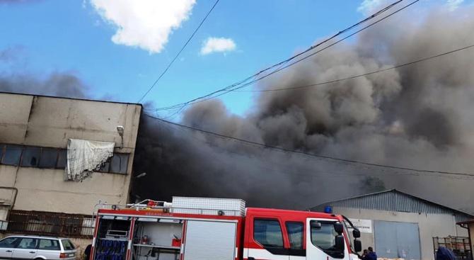 Няма замърсяване на въздуха в Пловдив след големия пожар