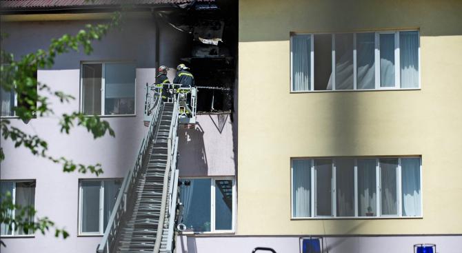 Пожар в старчески дом със заразен с COVID-19