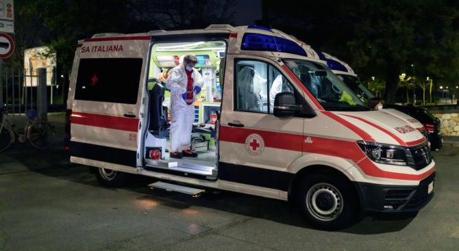 Смъртните случаи от новия коронавирус в Италия са се увеличили