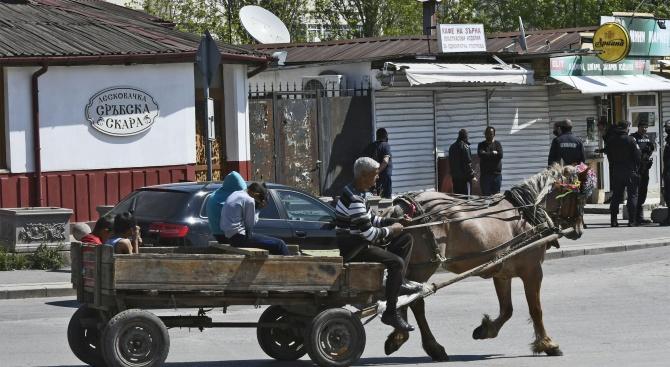 Дезинфекцията от въздуха в ромския квартал на Ямбол приключи.Всичко по