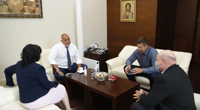 Браншовите организации изразиха благодарност към премиера Бойко Борисов Бойко Методиев